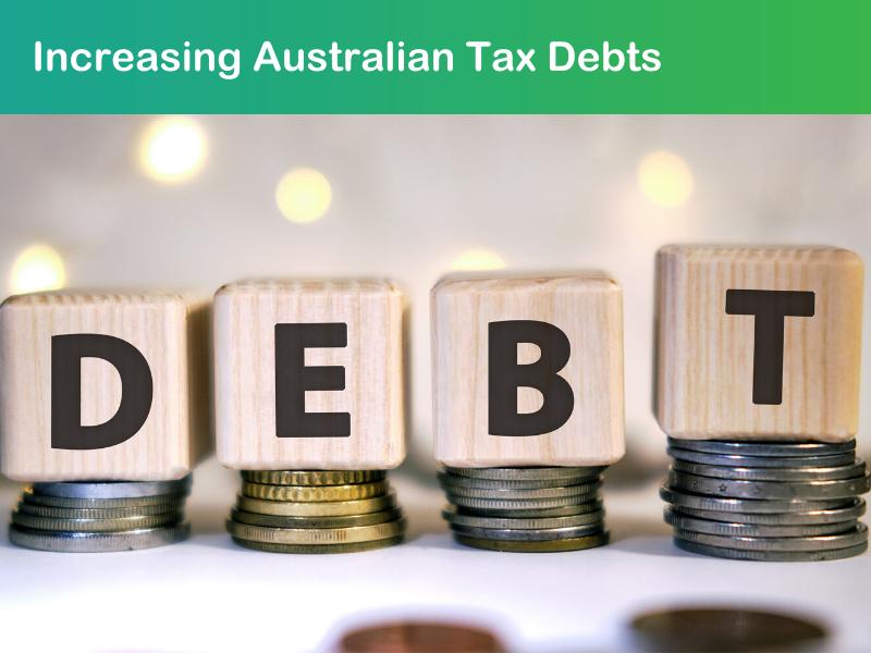 Increasing Australian Tax Debts